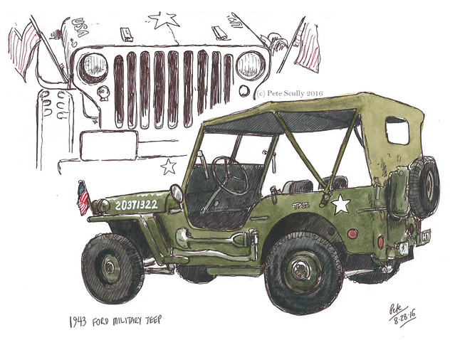 automuseum 1943 military jeep