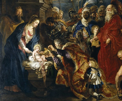 Resultado de imagen para adoración de los magos en la pintura