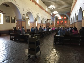 Church Service, Mission San Juan Bautista, California July 2016