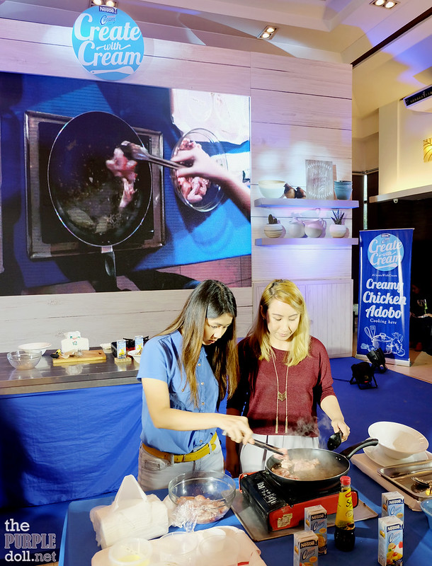 Sumi and Berylle cooking