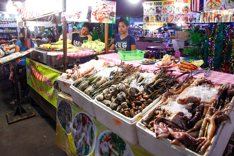 Seafood Grill Stall Chiangmai