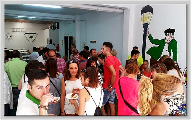 Briviesca Fiestas 2016 Concurso de pinchos Los Desesperaos 3