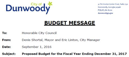 http://dunwoodyga.gov/ckeditorfiles/files/Budgets_and_Financial_Reports/2017%20Proposed%20City%20of%20Dunwoody%20Budget%209-1-2016.pdf