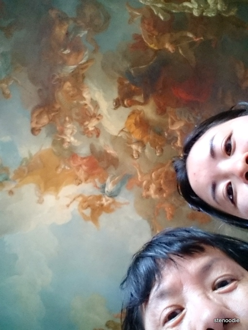 Palace of Versailles ceiling art