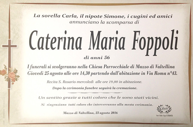 Foppoli Caterina Maria