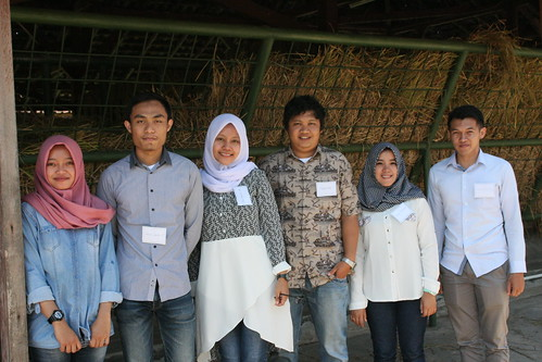 University of Brawijaya students who were part of the project's data gathering team