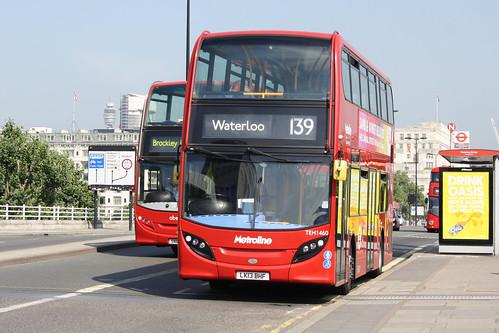 Metroline TEH1460 LK13BHF