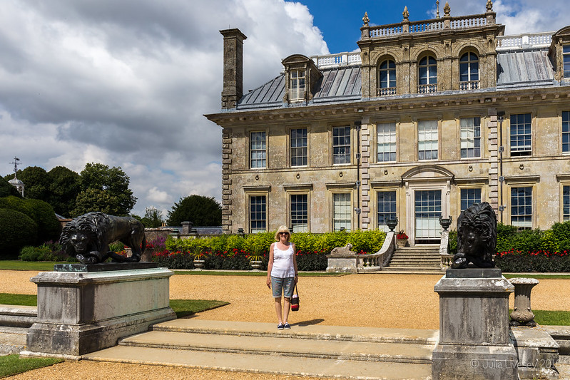 Linda at Kingston Lacy