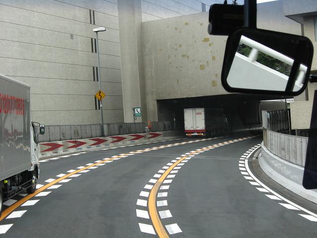 阪神高速道路と朝日新聞社ビル (4)
