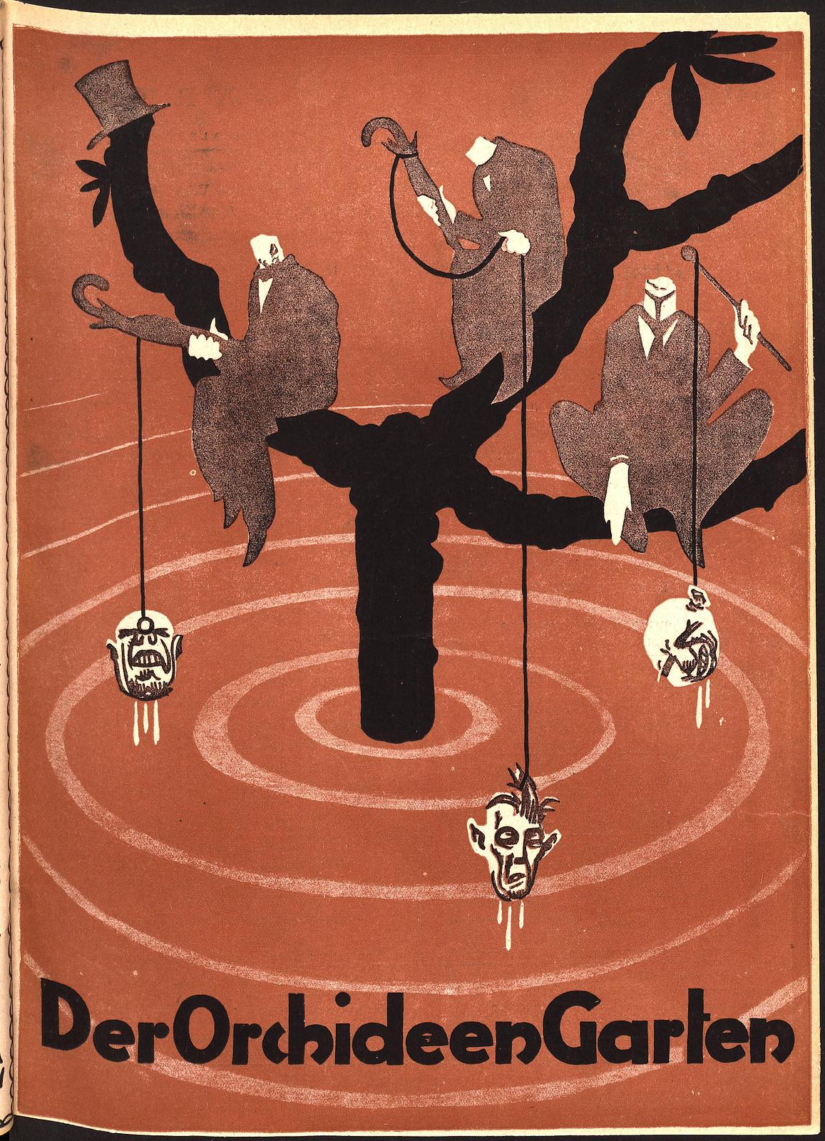 Der Orchideengarten - 1919 (Cover 2)