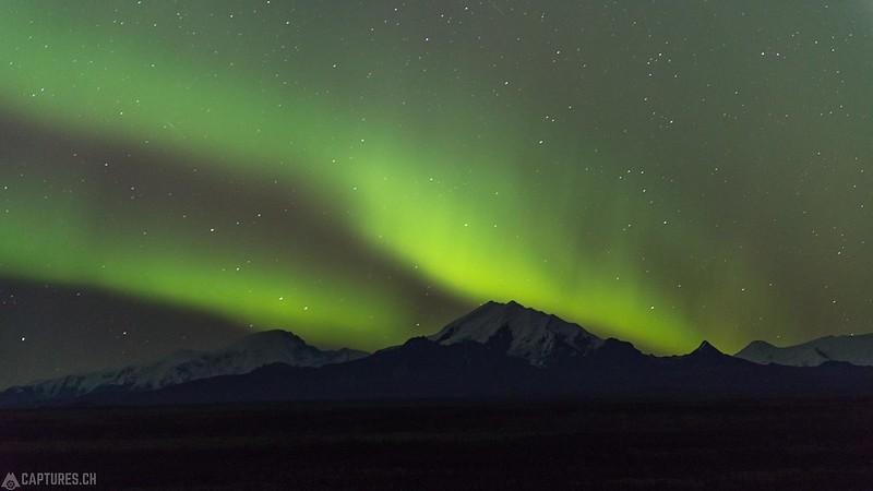 Northern lights over the Mt. Drum 1 - Glenallen