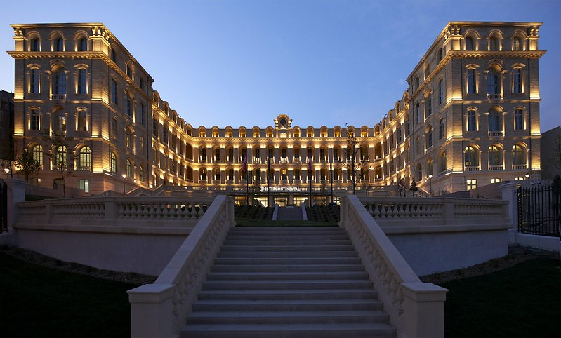 Exterior view of the InterContinental Marseille
