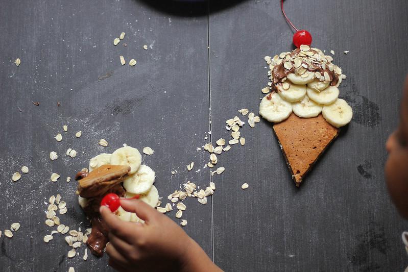 Nutella Oat Pancakes | Southern Soufflé
