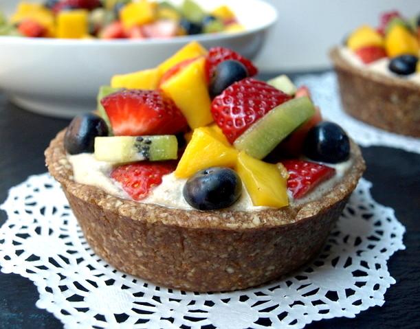 Raw Fruit Tartlet
