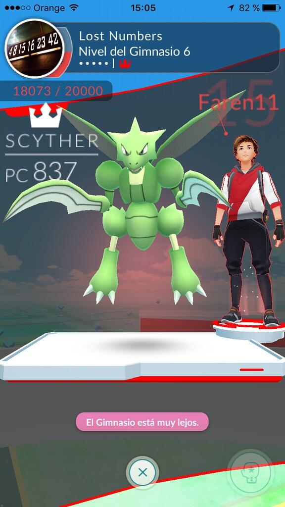 Scyther Pokemon GO
