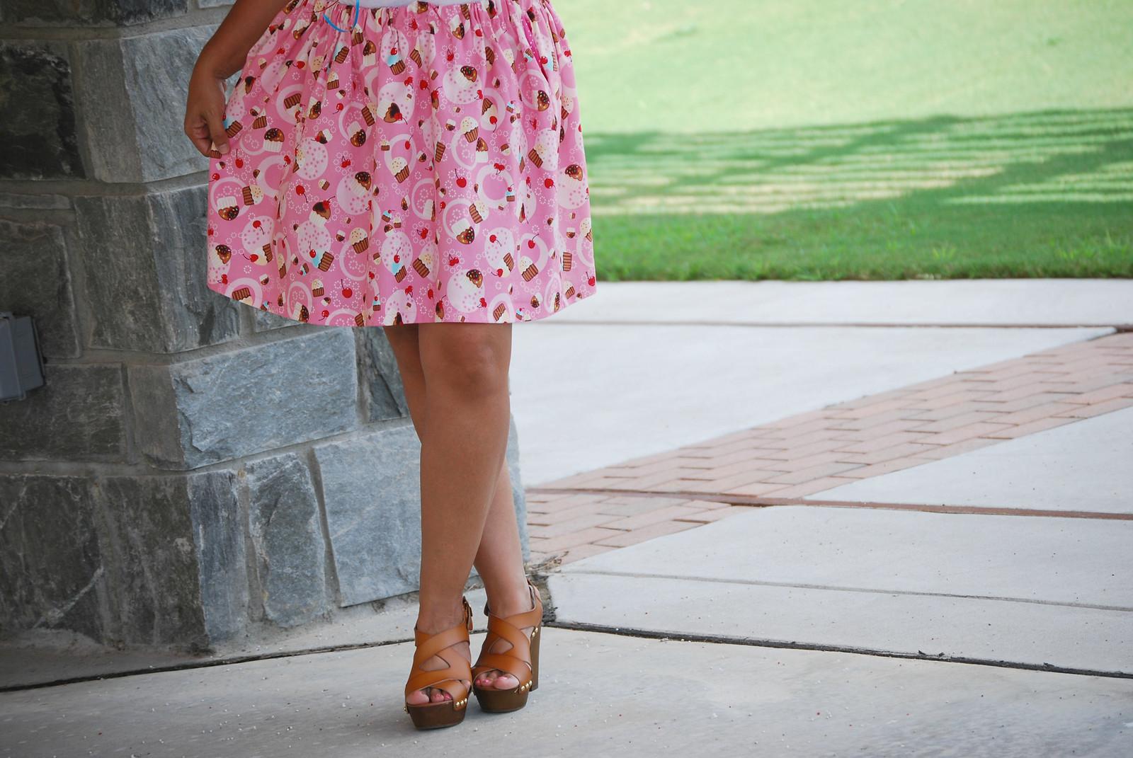 cupcake love skirt