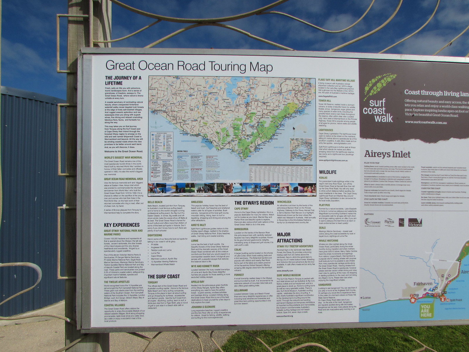 GOR Touring Map
