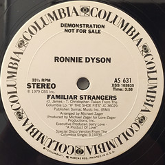 RONNIE DYSON:IF THE SHOE FITS(DANCE IN IT)(LABEL SIDE-B)