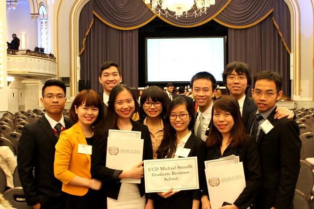 RMIT students at Harvard National Model United Nationals