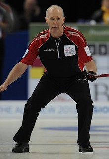 Edmonton Ab.Mar6,2013.Tim Hortons Brier.Ontario skip Glenn Howard.CCA/michael burns photo | by seasonofchampions