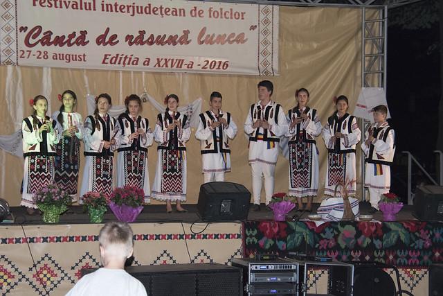 """GRUPUL FOLCLORIC """"DOINA MÂNDREI"""", Comuna Corod, Jud. Galați - Ziua 1 Festivalul Folcloric """"Canta de rasuna lunca"""" - Tecuci - 27 august 2016"""
