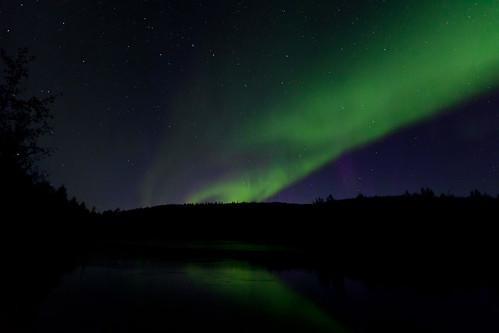 090216 - Post-Sunset Aurora over the Salcha