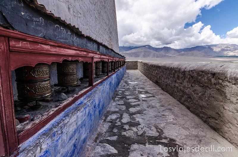 valle del indo terraza del palacio Shey