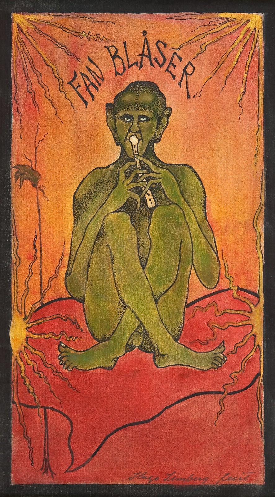 Hugo Simberg - The Devil Blows