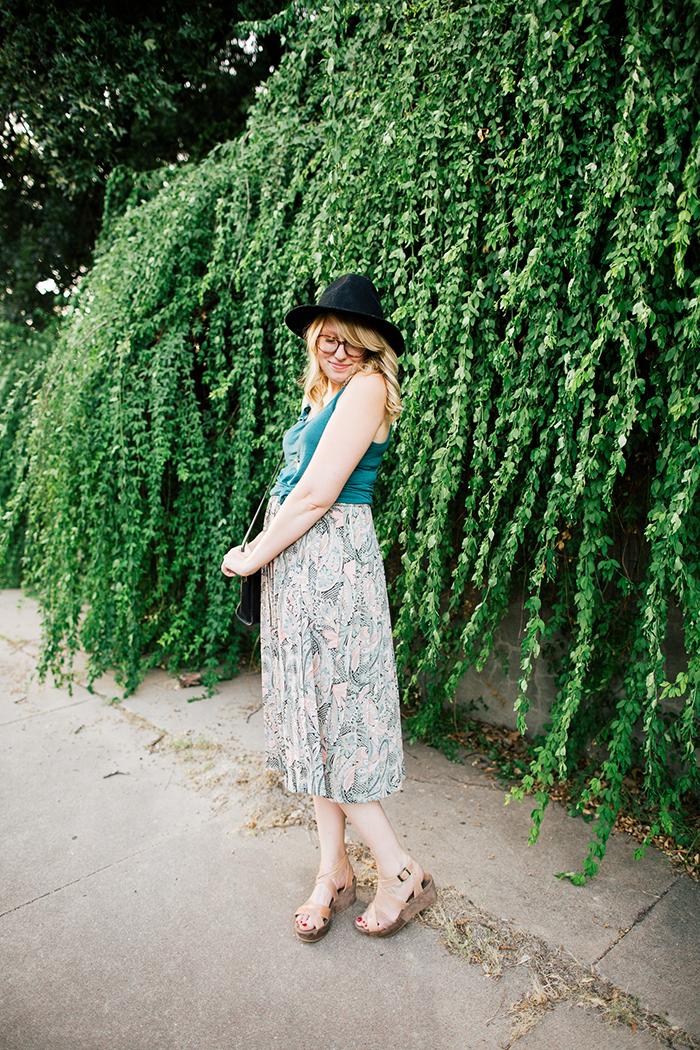 pieceology vintage midi skirt4