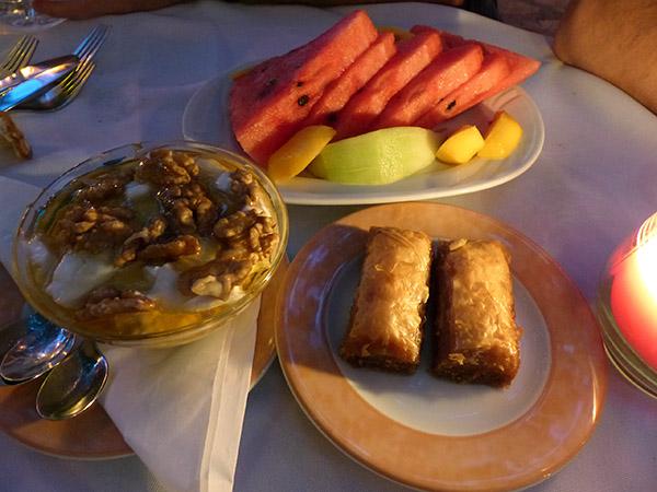 desserts grecs