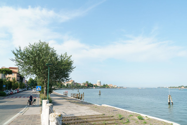 Haupstraße von Lido di Venezia