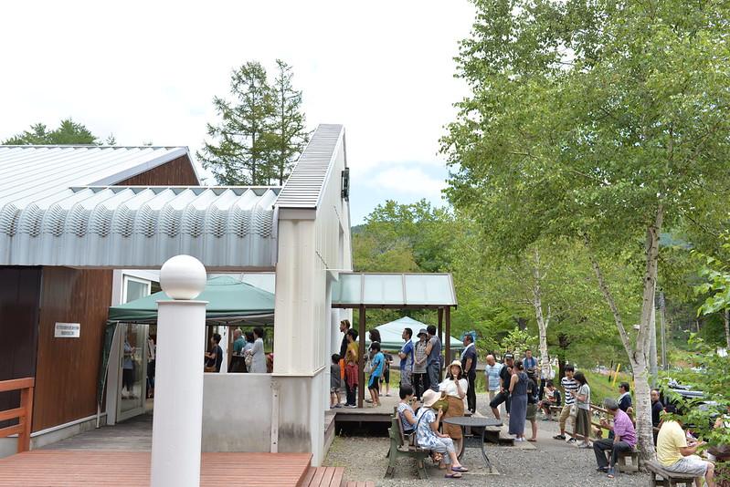 開田高原アイスクリーム 長野旅行 2016年8月15日-17日