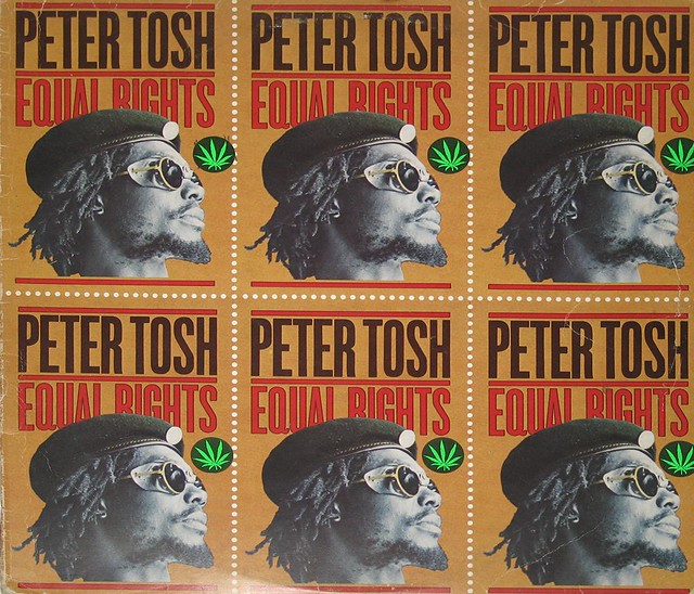 "Peter Tosh Equal Rights Virgin England 12"" Lp Vinyl Album"