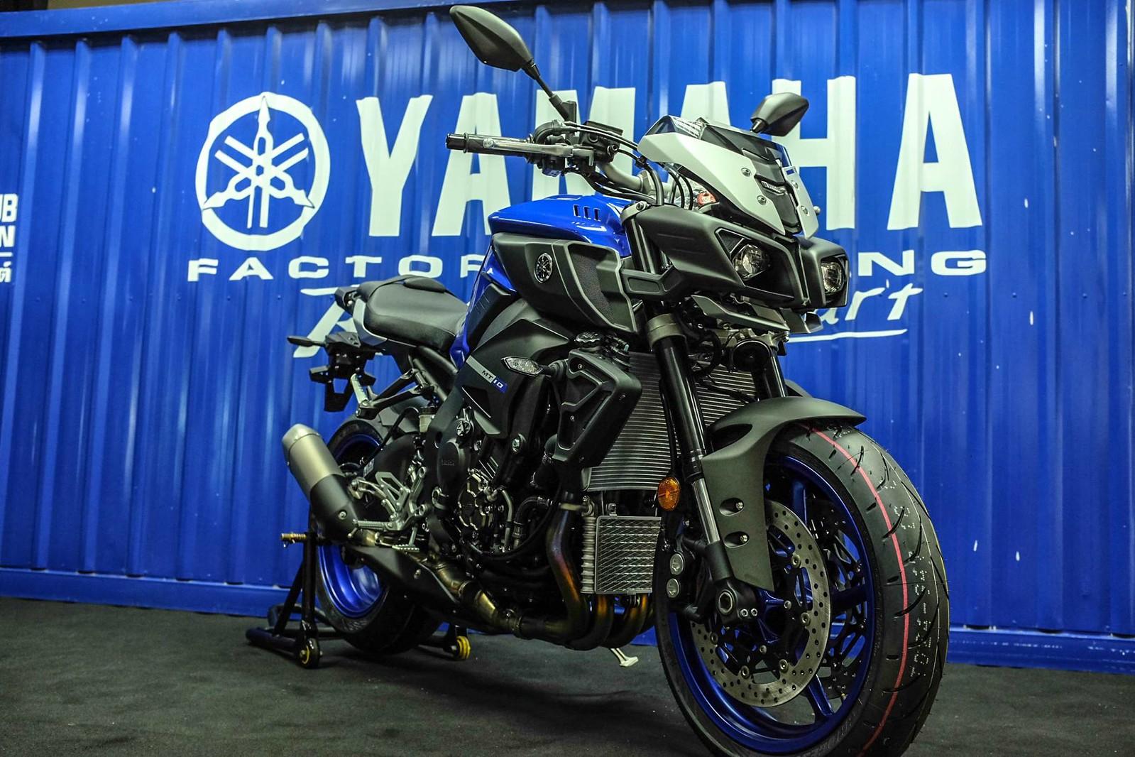 Yamaha mt 10 619 000 bht for Yamaha mt10 price