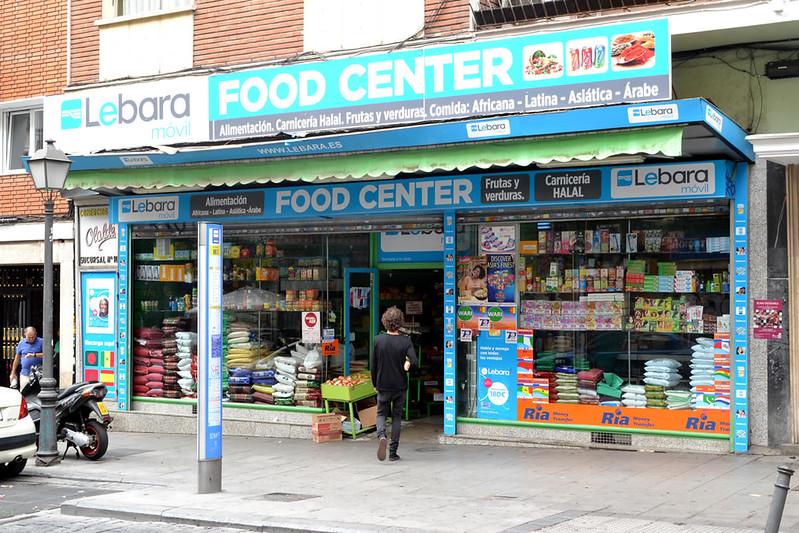 Un supermercado adaptado a las necesidades de los habitantes del barrio.