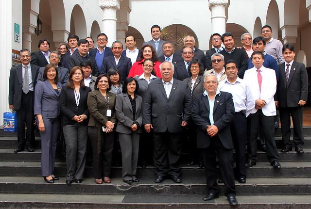 Ceremonia por el Día de la Medicina Peruana