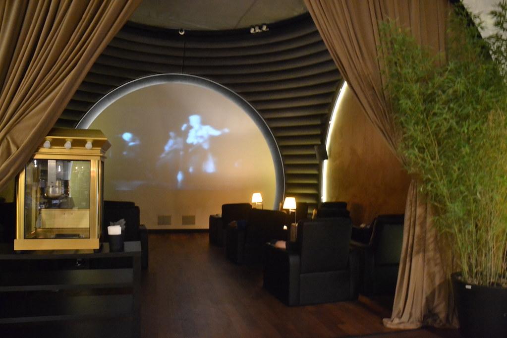 土耳其航空貴賓室電影院
