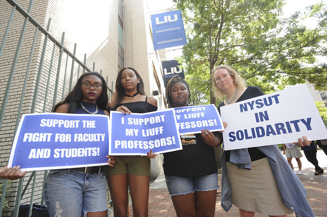 LIU Brooklyn - Teacher Lock Out