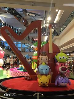 CIRCLEG 九龍塘 又一城 DISNEY TSUM TSUM 壽司 「Disney Tsum Tsum Walk N Roll Festival (13)