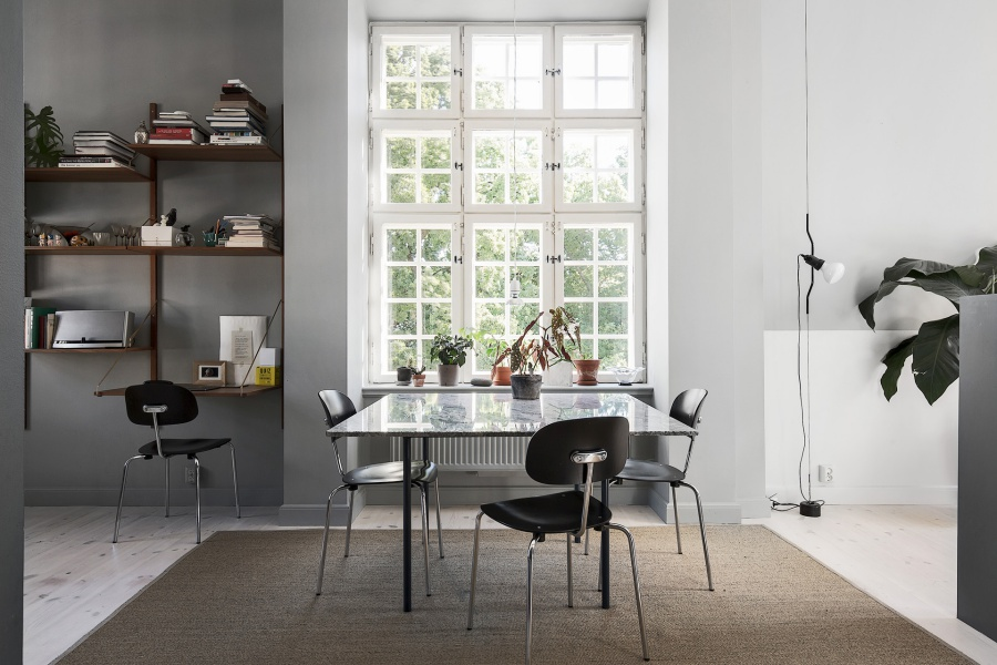 Minimal White and Gray Home