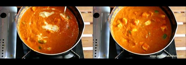 paneer butter masala 6