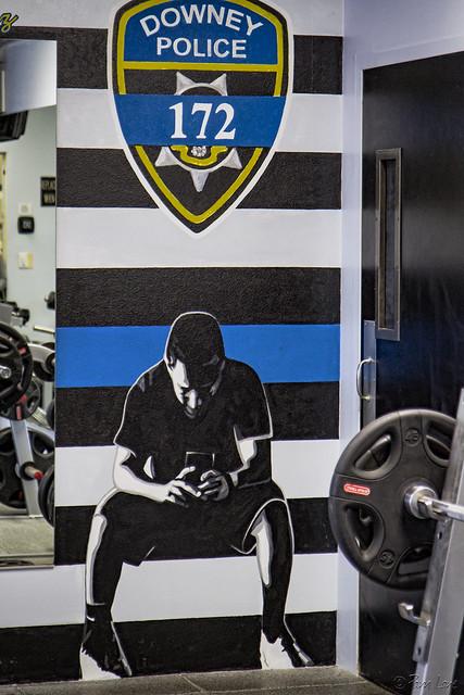 Ricky Galvez workout room