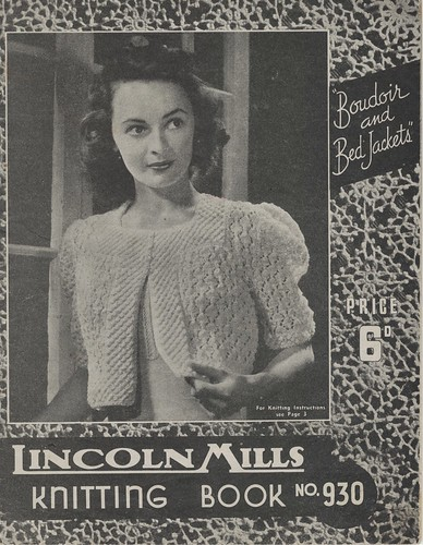 Lincoln Mills 930 Boudoir and Bed Jackets 1