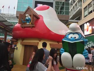 CIRCLEG 遊記 香港  尖沙咀 海港城 藍精靈 HABOUR CITY (11)