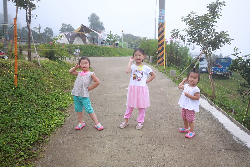 小朋友們拍照的標準Pose
