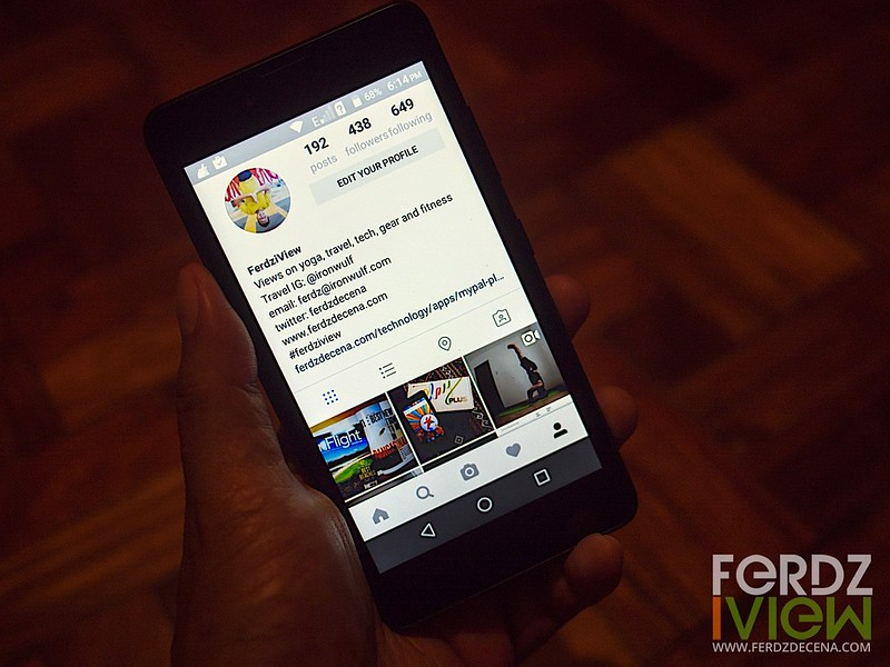 Instagram and other social media apps works on the play plus