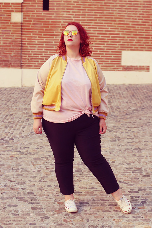 French Curves le bomber 10
