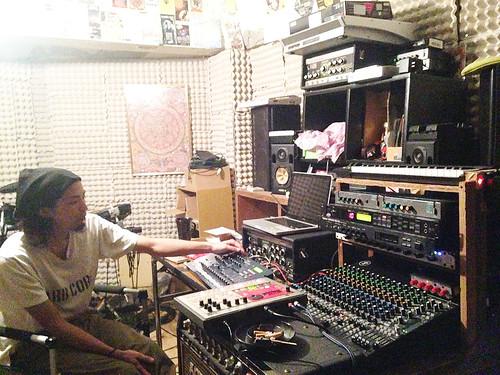 スタジオ内の様子(harikuyamaku_58)