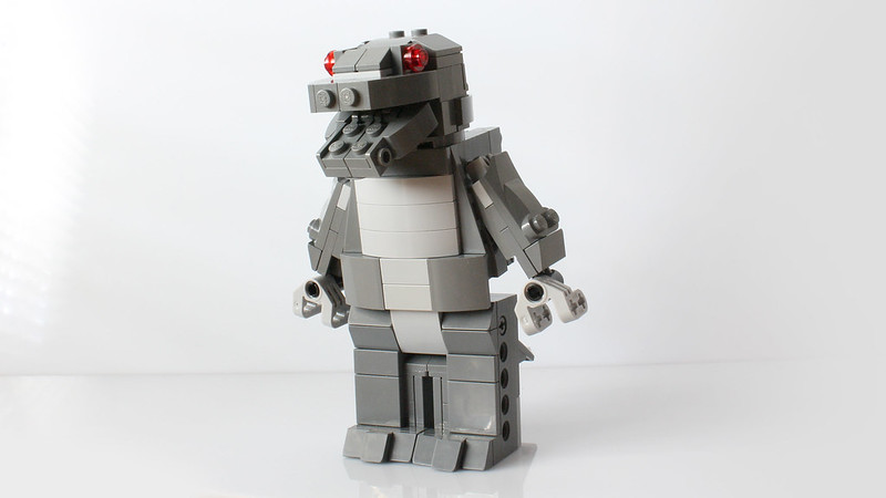 Moc Godzilla With Instructions Special Lego Themes