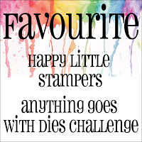 Happy Little Stampers - Anything Goes With Dies Favorite
